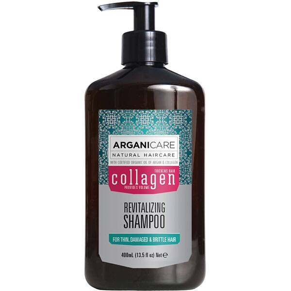 Sampon ARGANICARE Collagen, 400ml