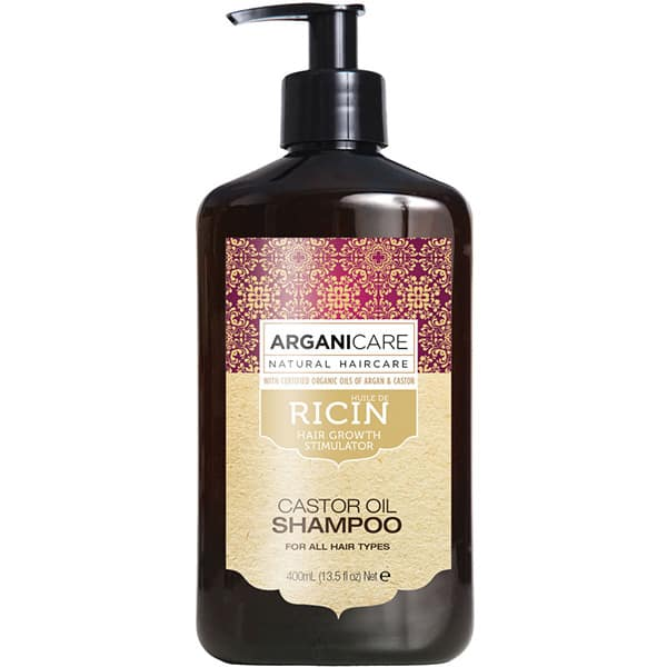 Sampon ARGANICARE Ricin Oil, 400ml