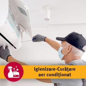 Serviciu igienizare-curatare aer conditionat