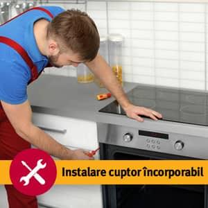 Serviciu instalare cuptor incorporabil in 1-3 zile lucratoare