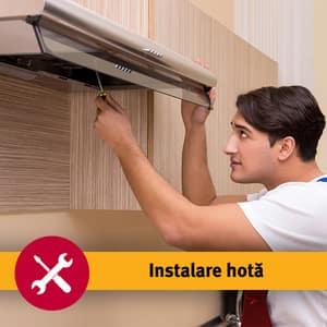 Serviciu instalare hota fara burlan in 1-3 zile lucratoare