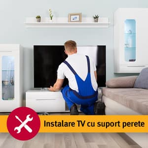 Serviciu instalare TV cu suport perete (fara materiale incluse)