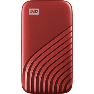 SSD portabil WD My Passport WDBAGF0020BRD-WESN, 2TB, USB 3.2, rosu