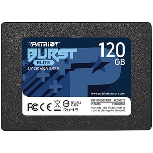 "Solid-State Drive (SSD) PATRIOT Burst Elite, 120GB, SATA3, 2.5"", PBE120GS25SSDR"