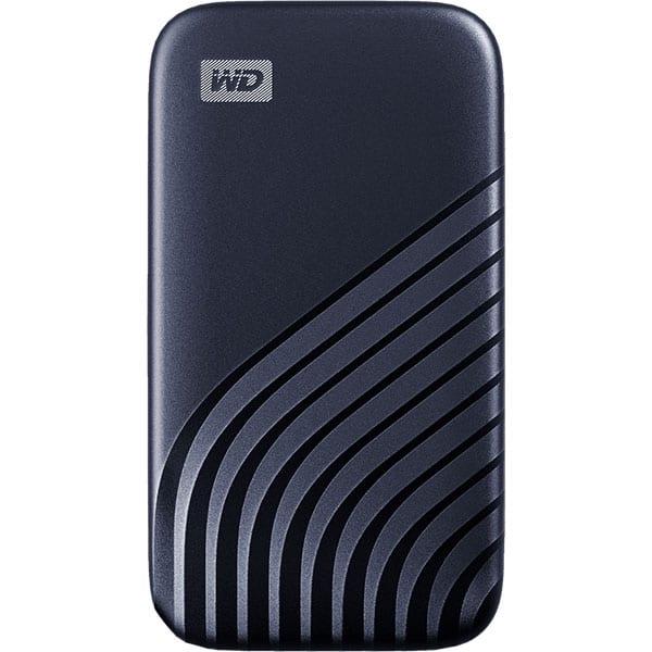SSD portabil WD My Passport WDBAGF0020BBL-WESN, 2TB, USB 3.2, albastru inchis
