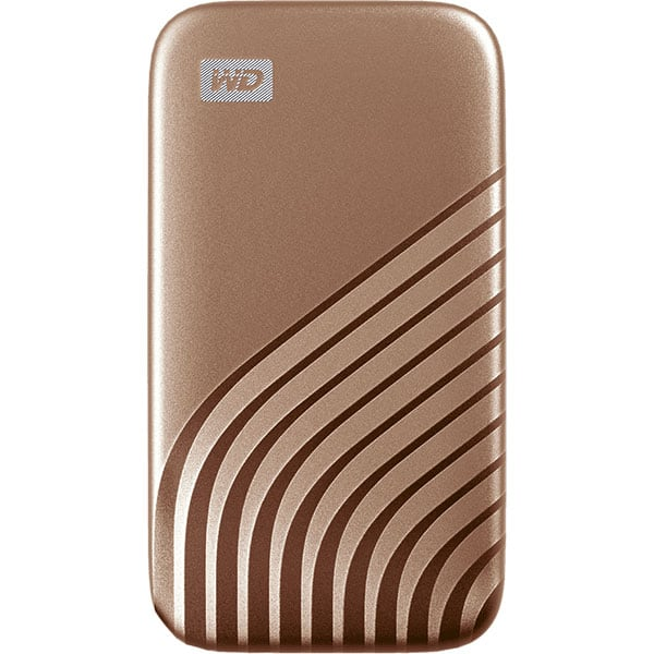 SSD portabil WD My Passport WDBAGF0010BGD-WESN, 1TB, USB 3.2, auriu