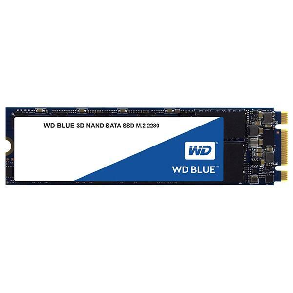 Solid-State Drive (SSD) WESTERN DIGITAL Blue, 500GB, SATA3, M.2 2280, WDS500G2B0B