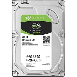 Hard Disk desktop SEAGATE BarraCuda 3TB, 5400 RPM, SATA3, 256MB, ST3000DM007
