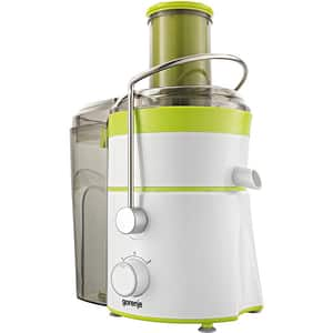 Storcator fructe si legume GORENJE JC801G, 1.5l, 800W, 2 trepte putere, alb-verde deschis