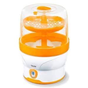 Sterilizator electric BEURER BY76, 500W, alb-portocaliu