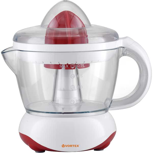Storcator citrice VORTEX VO4004, 0.7l, 40W, alb-rosu