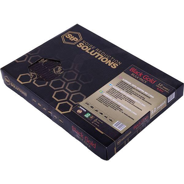 Insonorizant auto STP BLACK GOLD BULK, 2.3mm, 4.5mp