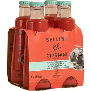 Bautura racoritoare necarbogazoasa CIPRIANI Virgin Bellini bax 0.18L x 4 sticle