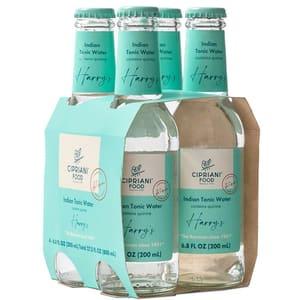 Bautura racoritoare carbogazoasa CIPRIANI Harry's Indian Tonic Water bax 0.2L x 4 sticle