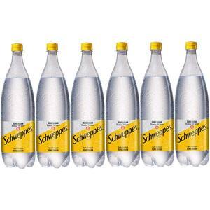 Bautura racoritoare carbogazoasa SCHWEPPES Tonic Water Zero Zahar bax 1.5L x 6 sticle