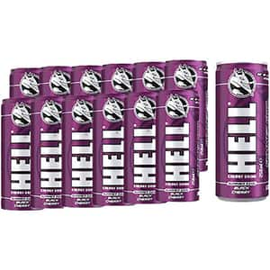 Bautura energizanta HELL ENERGY Cool, Black Cherry bax 0.25L x 12 cutii