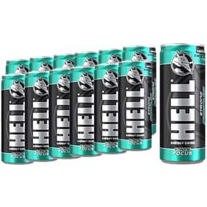 Bautura energizanta HELL ENERGY Strong Focus bax 0.25L x 12 cutii