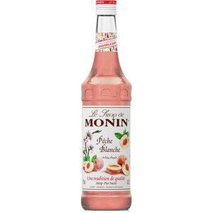 Sirop MONIN White Peach, 0.7L