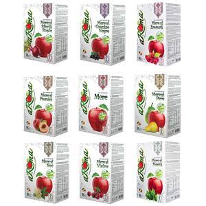 Suc natural AROMA mix sortimente bax 3L x 9 cutii