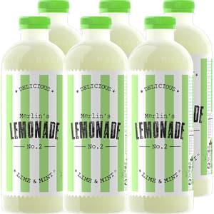 Bautura racoritoare necarbogazoasa LEMONADE No. 2 lime&mint, 1.2L x 6 sticle
