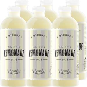 Bautura racoritoare necarbogazoasa LEMONADE No. 3 lemon&ginger, 1.2L x 6 sticle