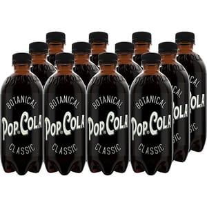 Bautura racoritoare carbogazoasa POP COLA Classic, 0.5L x 12 sticle