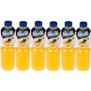 Bautura racoritoare necarbogazoasa SANTAL Top Ananas, 1.5L, 6 sticle