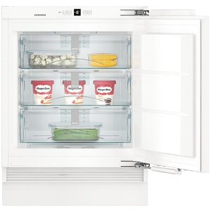 Congelator incorporabil LIEBHERR SUIGN 1554 Premium, No Frost, 80 l, H 82 cm, Clasa E, alb