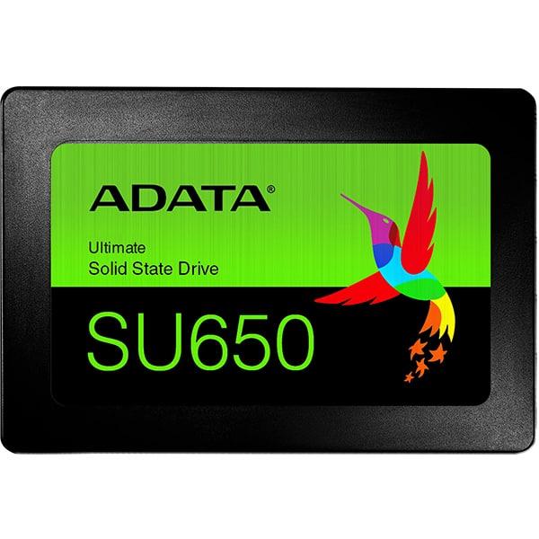 "Solid-State Drive (SSD) ADATA SU650, 960GB, SATA3, 2.5"", ASU650SS-960GT-R"