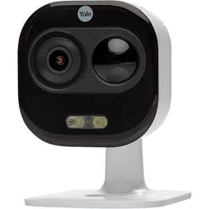 Camera supraveghere Wireless exterior YALE SV-DAFX-W EU, Full HD 1080p, IR, Night Vision, alb