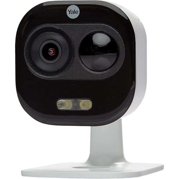 Camera supraveghere Wireless exterior YALE SV-DAFX-W EU, Full HD 1080p, IR, Night Vision, alb