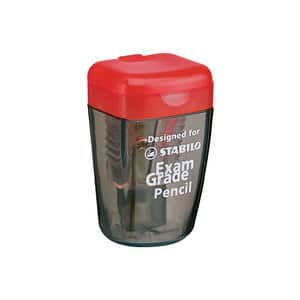 Ascutitoare STABILO Exam Grade 4518, plastic, transparent