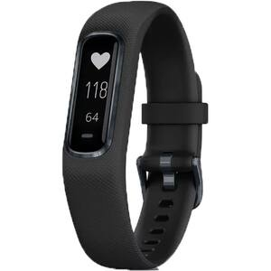 Bratara fitness GARMIN Vivosmart 4, Android/iOS, silicon, Large, negru