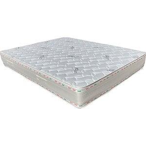 Saltea ortopedica PREVI Silver 14+7 cm, 125 x 190 cm, Spuma cu memorie, Duritate diferita, Aquagel Air-Fresh