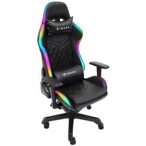 Scaun Gaming INAZA Rainbow RBW01-BK, negru