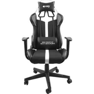 Scaun pentru gaming Fury Avenger XL, negru-alb