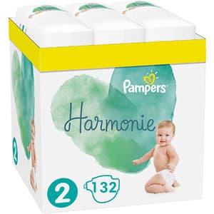 Scutece PAMPERS Harmonie XXL Box nr 2, Unisex, 4-8 kg, 132 buc