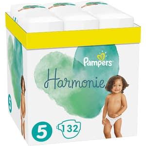 Scutece PAMPERS Harmonie XXL Box nr 5, Unisex, 11-16 kg, 132 buc