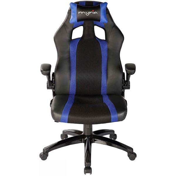 Scaun gaming MYRIA MG7407BL, negru-albastru