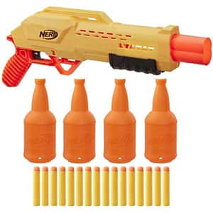 Set 2 blastere NERF Alpha Strike Tiger DB2 cu tinte E8312, 8 ani+, multicolor