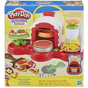 Set PLAY DOH Cuptor cu pizza E4576, 3 ani+, multicolor