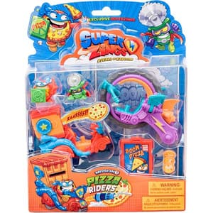 Set SUPERZINGS Misiunea 3 -  Pizza Riders SZ9006, 3 ani+, multicolor
