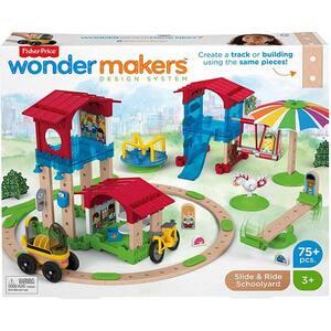 Set de construit FISHER PRICE Wonder Makers GGV82, 4 ani+, 75 piese