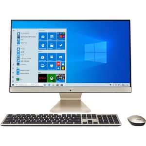 """Sistem PC All in One ASUS M241DAK-WA018T, AMD Ryzen 5-3500U pana la 3.7GHz, 23.8"""" Full HD, 8GB, SSD 512GB, AMD Radeon Vega 8 Graphics, Windows 10 Home"""
