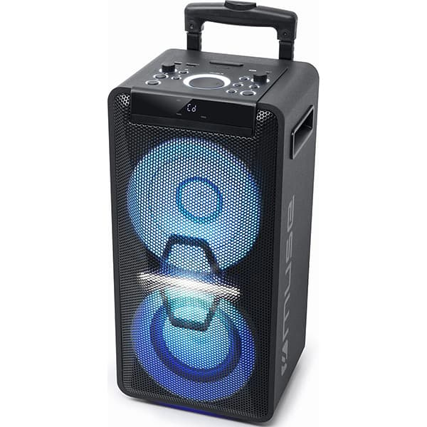 Sistem audio MUSE M-1920 DJ, 300W, Bluetooth, USB, negru