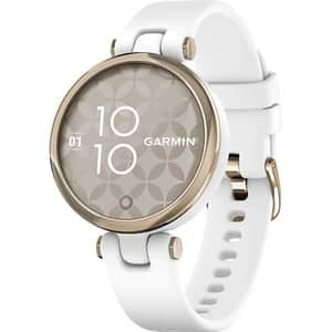 Smartwatch GARMIN Lily Sport, Android/iOS, silicon, Cream Gold/White