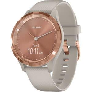 Smartwatch GARMIN Vivomove 3S 39mm, Android/iOS, silicon, Rose-Tundra