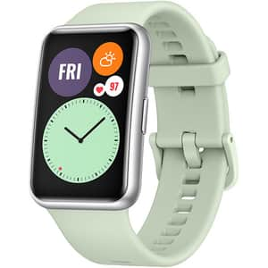 Smartwatch HUAWEI Watch Fit, Android/iOS, silicon, Mint Green