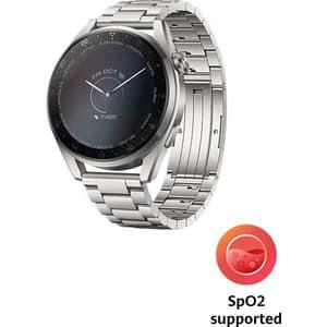 Smartwatch HUAWEI Watch 3 Pro Elite Edition, 4G, Android/iOS, Titanium Strap