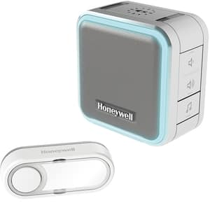 Sonerie wireless HONEYWELL DC515EG, 150m, alb-gri